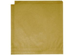 Kraft Brown Bag Fat Resistant 20X21CM X1000