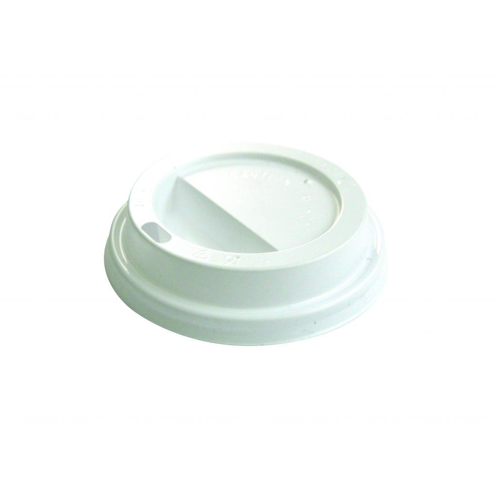 Couvercle Dôme blanc pour gobelet 16oZ