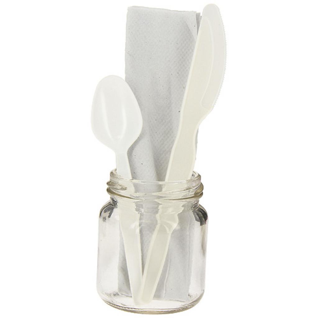 3 in 1 PS cutlery sleeve, teaspoon included