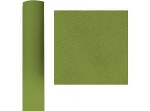 Roll of Kiwi Green dry-processed tablecloth 1.20x50M