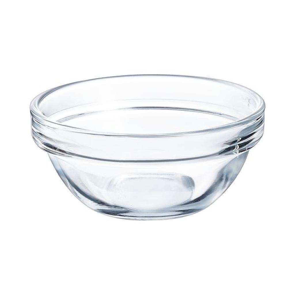 Saladier empilable Arcoroc en verre trempé - 710XH32mm 7.5cl (X36)