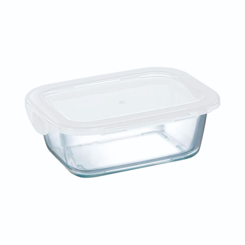 Boite rectangulaire Arcoroc en verre trempé - Food Box 146x110x54mm 38cl (X12)
