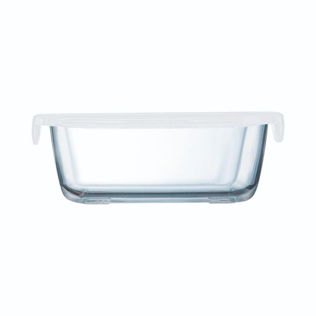Boite rectangulaire Arcoroc en verre trempé - Food Box 146x110x54mm 38cl (X12) 2