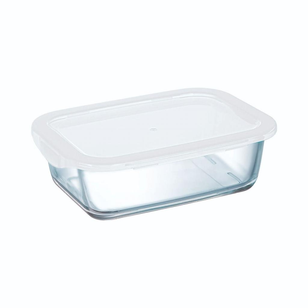Boite rectangulaire Arcoroc en verre trempé - Food Box 186X138X62mm 82CL (X12)