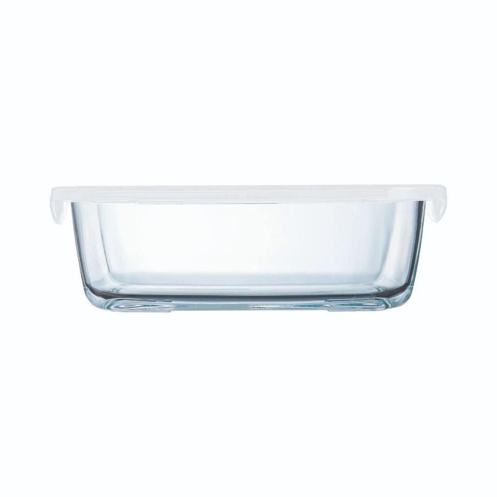 Boite rectangulaire Arcoroc en verre trempé - Food Box 186X138X62mm 82CL (X12) 2