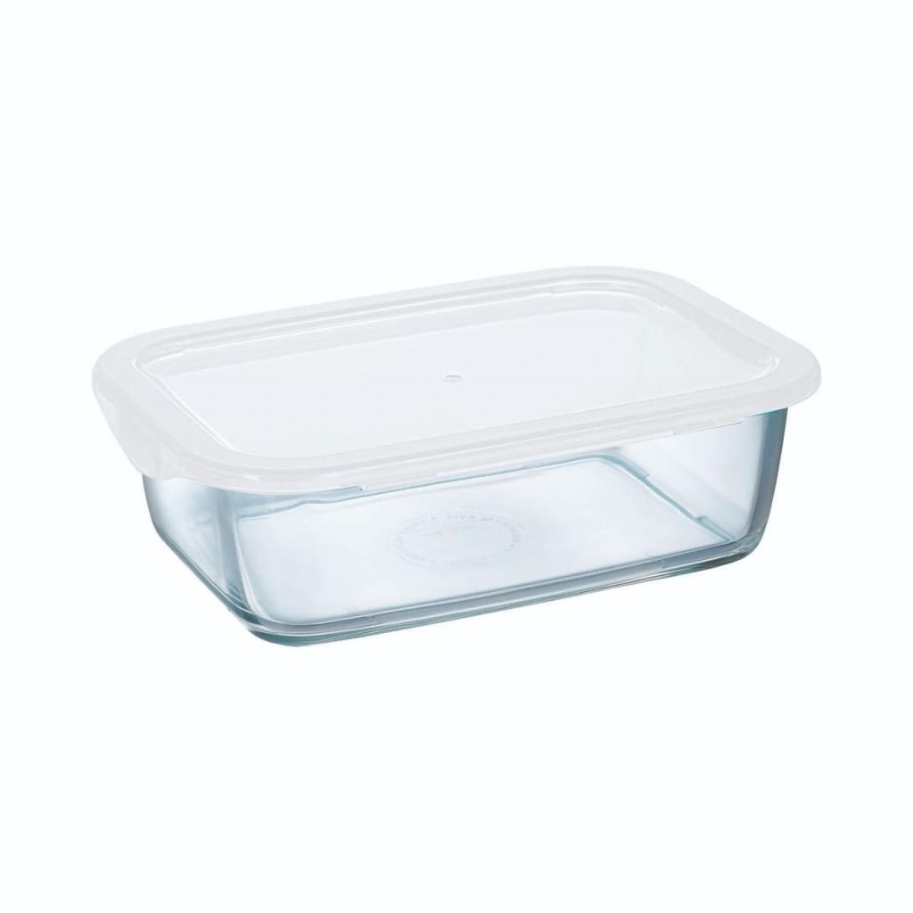 Boite rectangulaire Arcoroc en verre trempé - Food Box  247X182X72ml 197cl (X6)