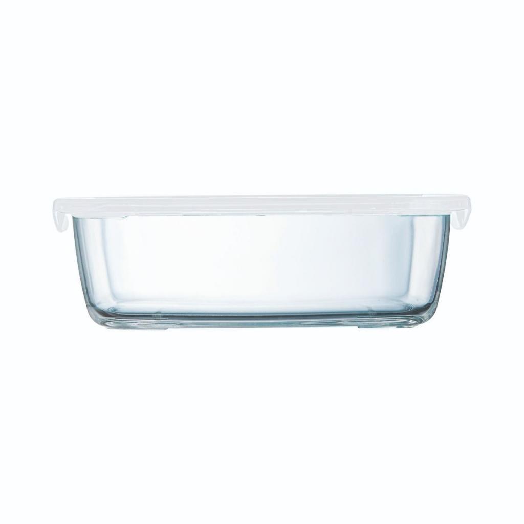 Boite rectangulaire Arcoroc en verre trempé - Food Box  247X182X72ml 197cl (X6) 2