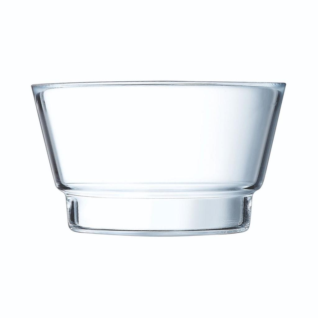 Coupelle Arcoroc en verre trempé - Gamme So Urban - 140X140XX82 80cl (X24)