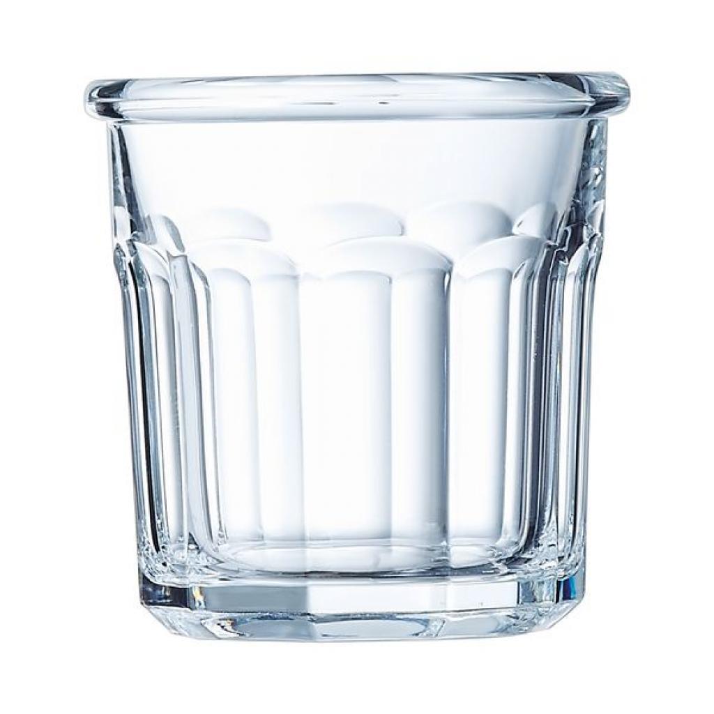 Verrine pot Arcoroc ESKALE en verre trempé18cl Diam.77XH78MM X24(4X6)