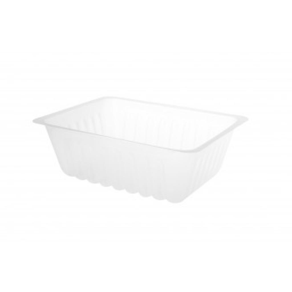 Transparent Caterer's Container in PS Plastic 500ML (X250)