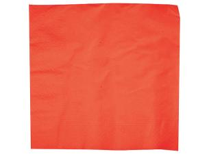 Serviette Ouate Biodégradable Rouge 40X40 X1250 (10X125)