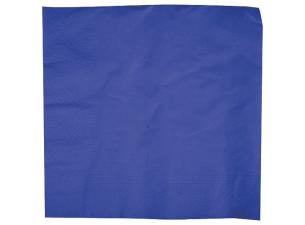 Deep Blue Biodegradable Quilted Napkin 40X40 X1250 (10X125)