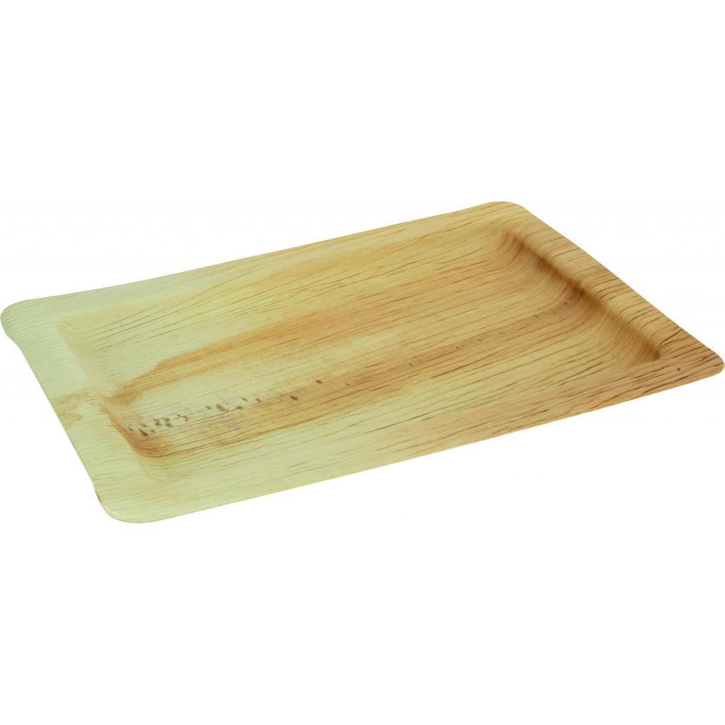 Assiette Palmier Rectangle 280x180x15mm