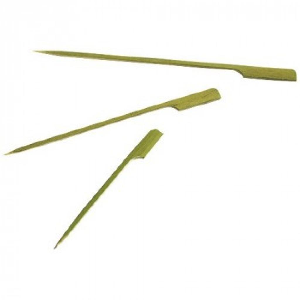 105mm bamboo flag skewer (X100)