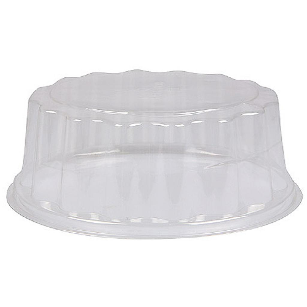 Lid for 4 verrine black/gold display platter
