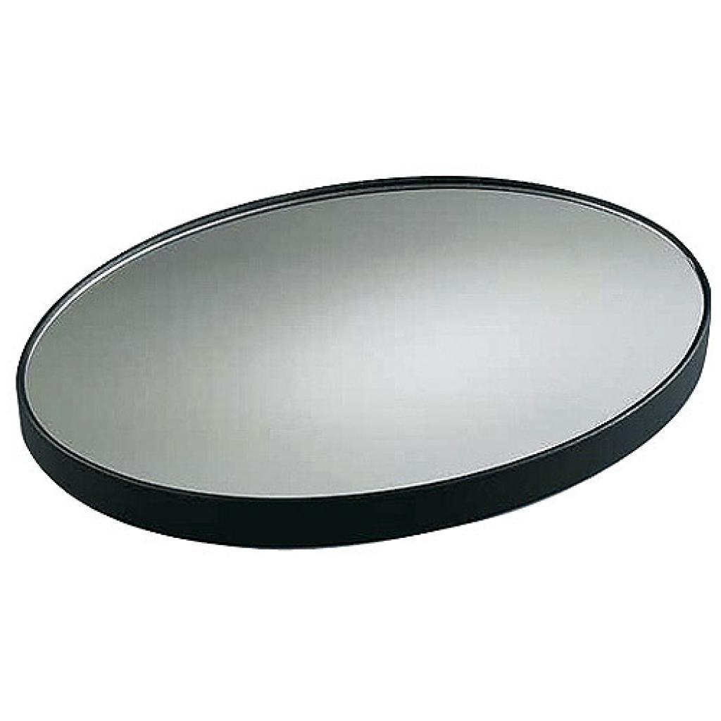 Présentoir miroir ovale plastique