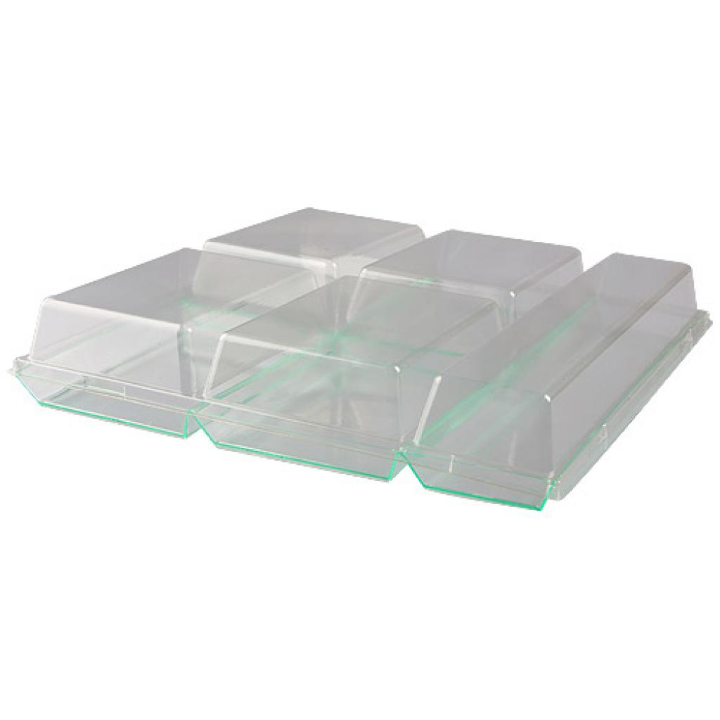 Lid for luxury 6-compartment tray 2