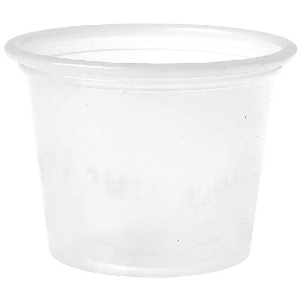 Mini pot PS opaque 3 cl