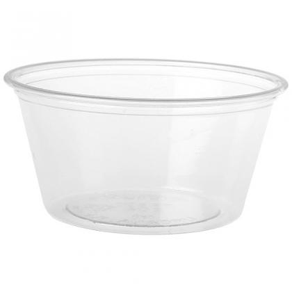 6cl transparent PS mini-pot