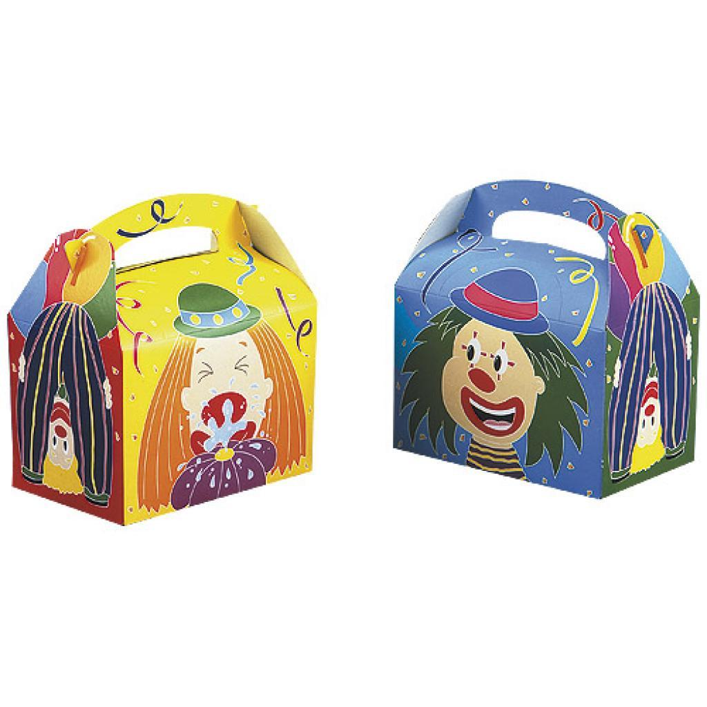 Boite Menu enfant en carton «cirque»