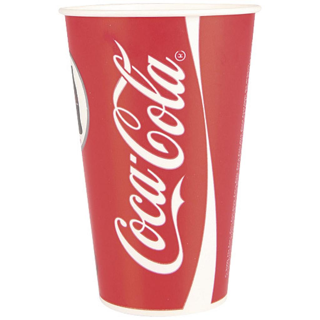 Coca-Cola paper cup 25/30cl - 12oz