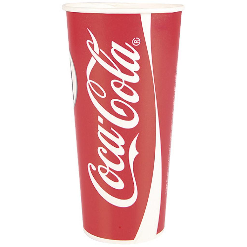 Coca-Cola paper cup 50/60cl - 22oz
