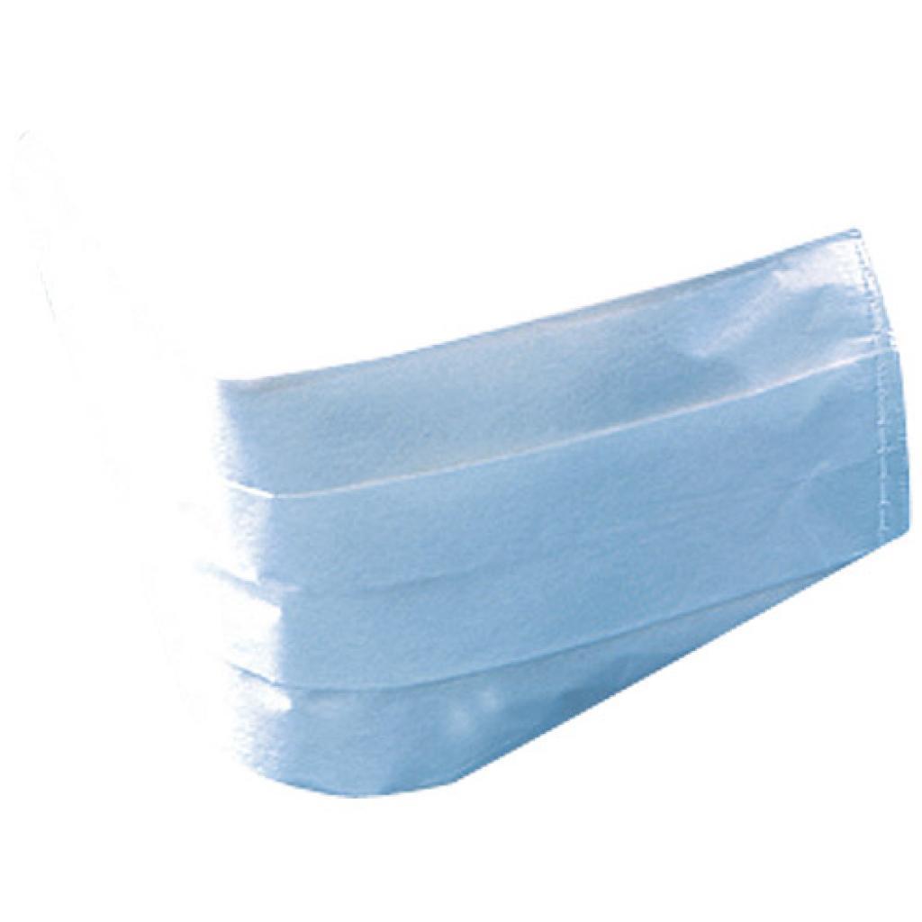 Masque en papier non tissé bleu 3 plis ***