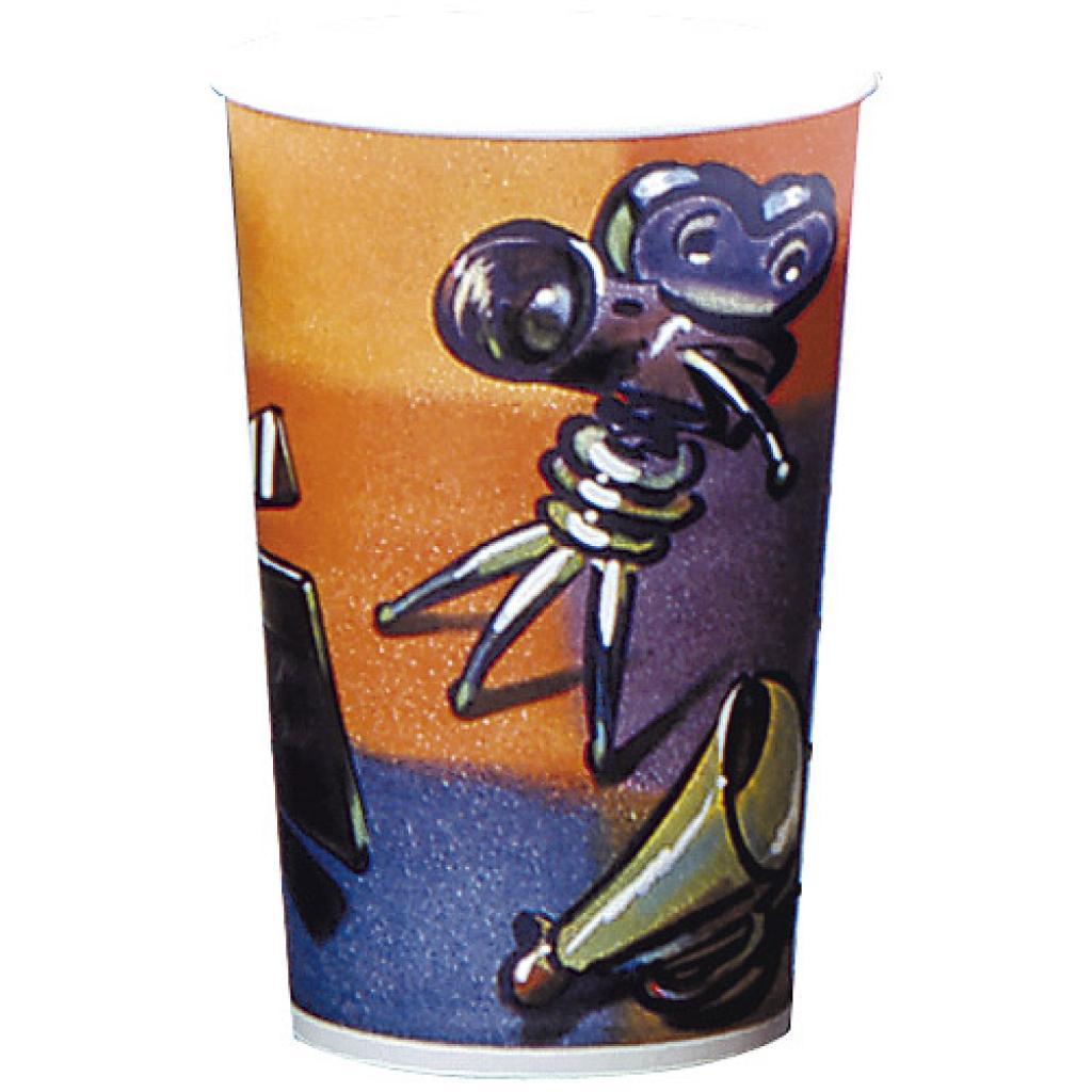 72cl / 24oz paperboard cinema print popcorn cup