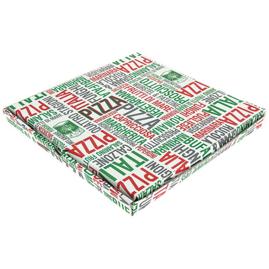 Cardboard pizza box  26x26x3 cm