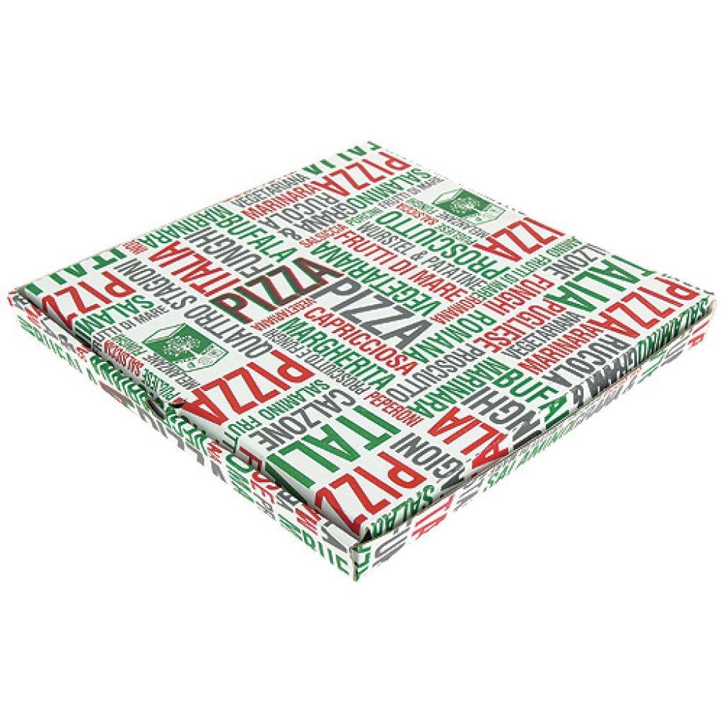 Boite pizza en carton  33x33x3 cm