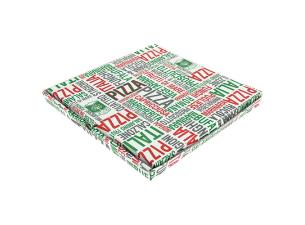 Cardboard pizza box 33x33x3 cm
