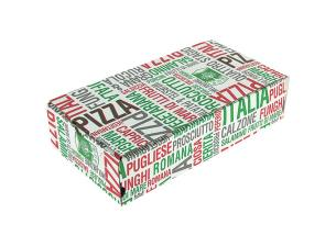 Pizza box for calzone 28x17x7 cm