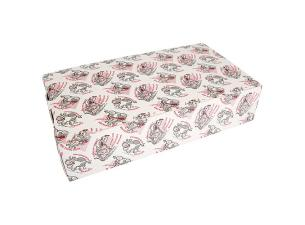 Pizza box for calzones 31x17x7 cm