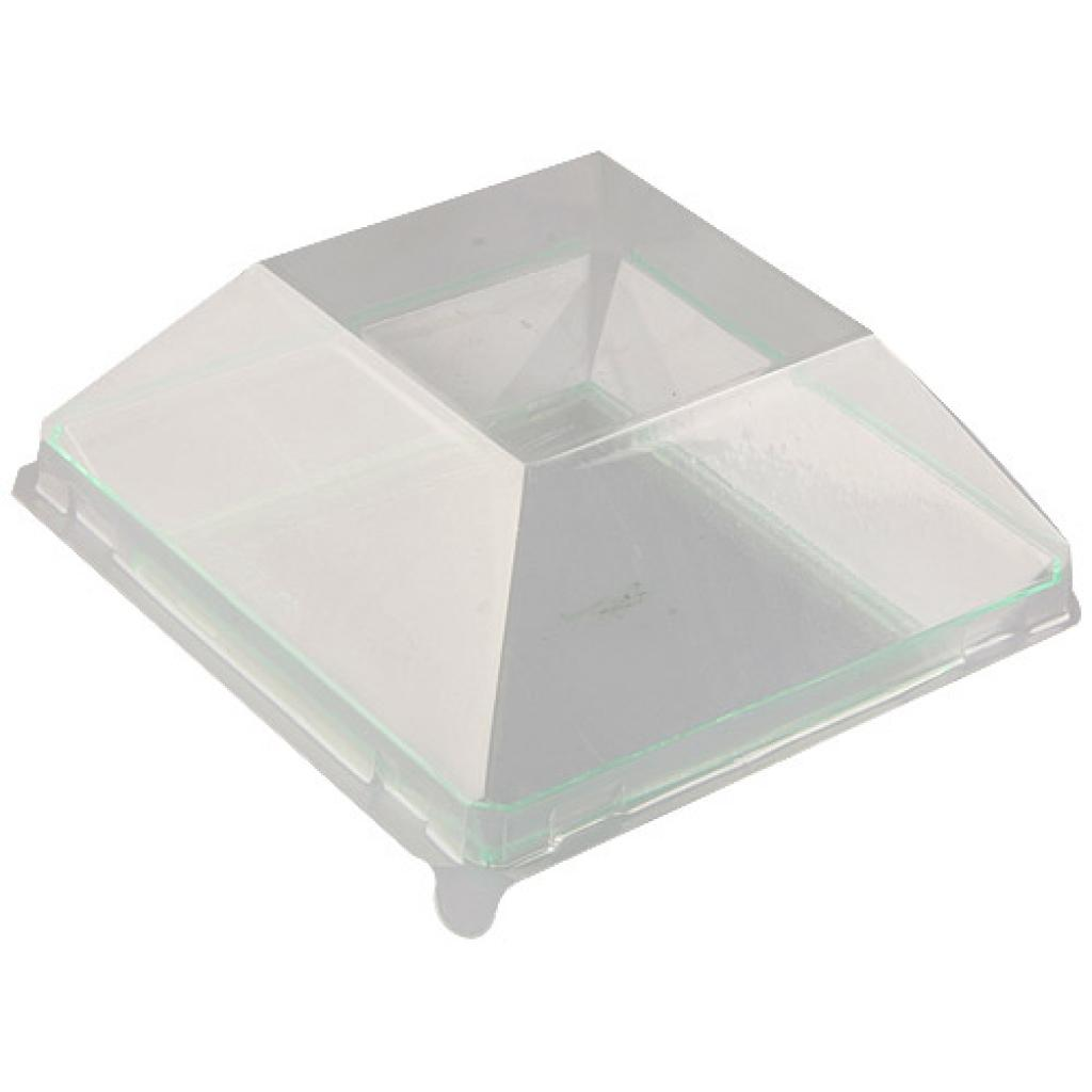 Couvercle pour assiette PS transparent 9 cm 3