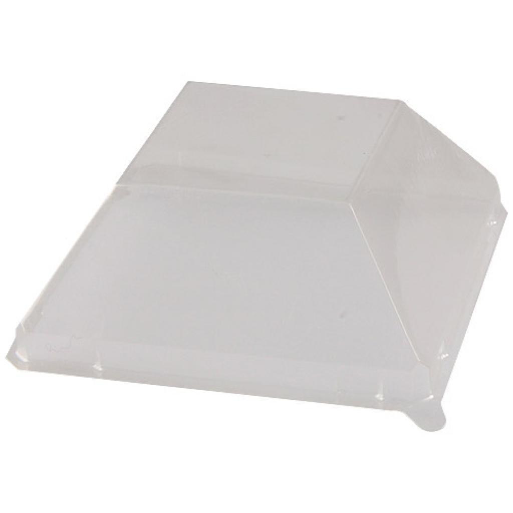 Couvercle pour assiette PS transparent 9 cm 2