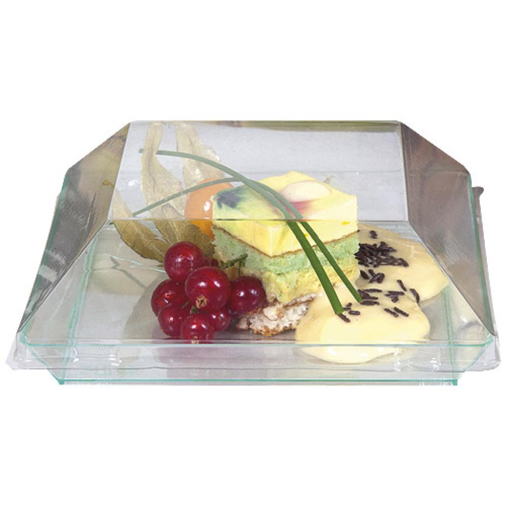 Lid for PS plastic plate 13 cm
