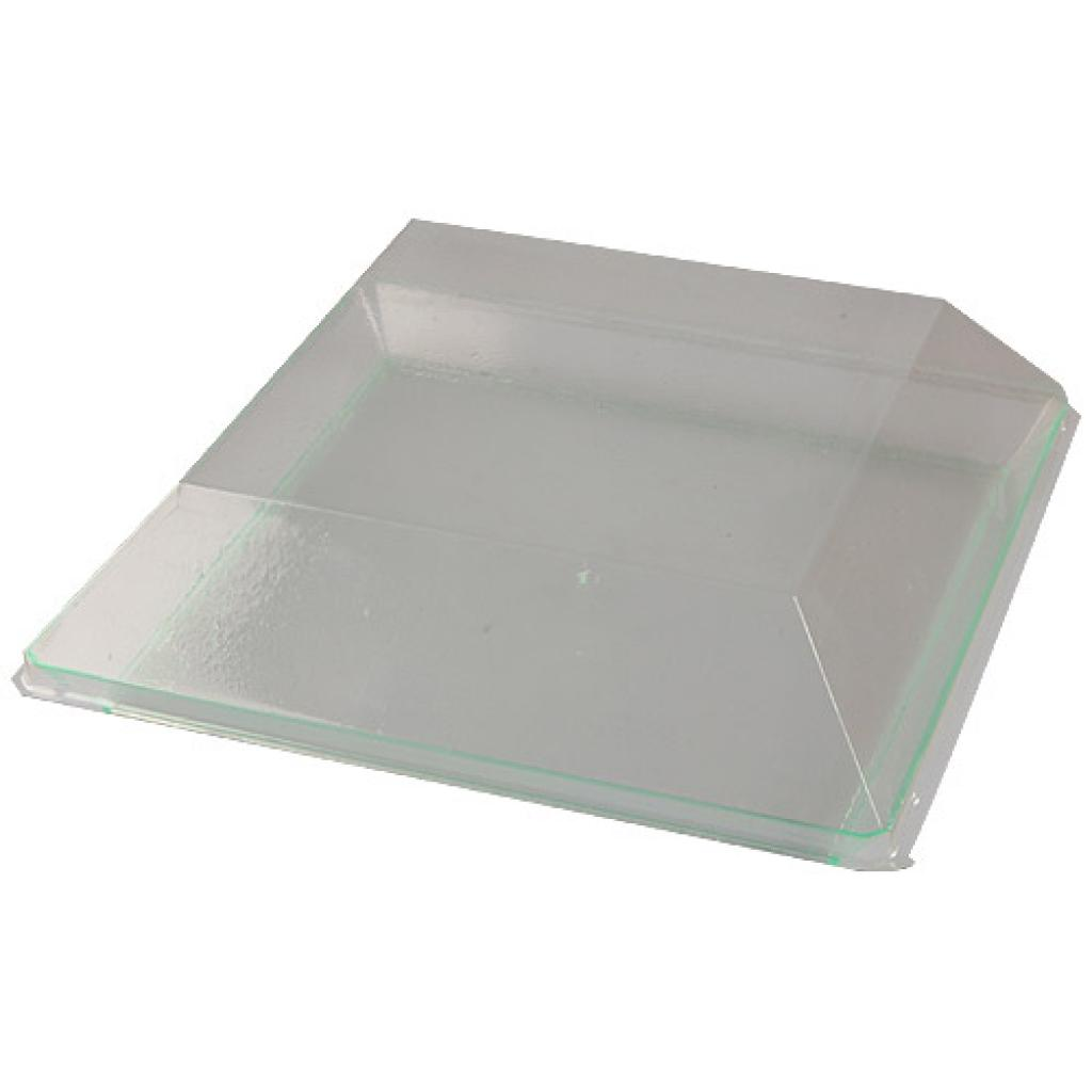 Couvercle pour assiette PS transparent 16 cm 3