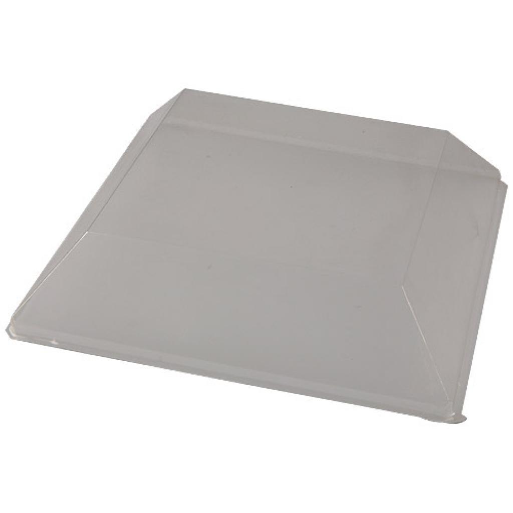 Couvercle pour assiette PS transparent 16 cm 2