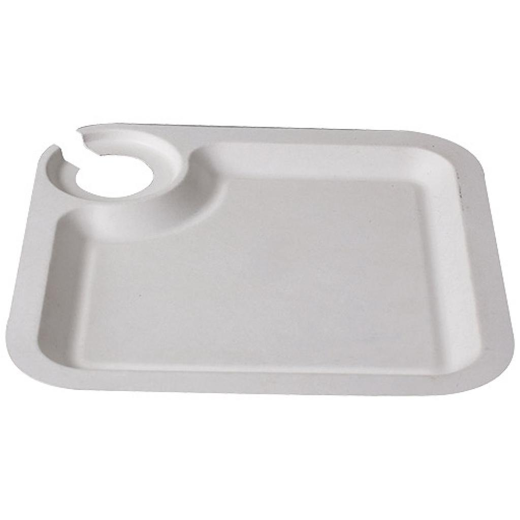 Assiette Cocktail jetable en Pulpe Ø 21 cm | Firplast 2
