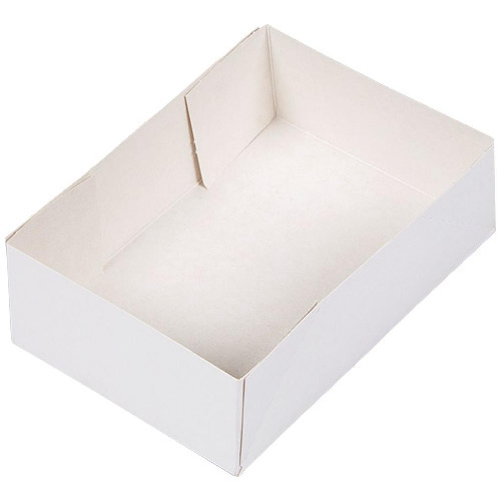 Caissette pâtissière carton blanche 16x12x5 cm