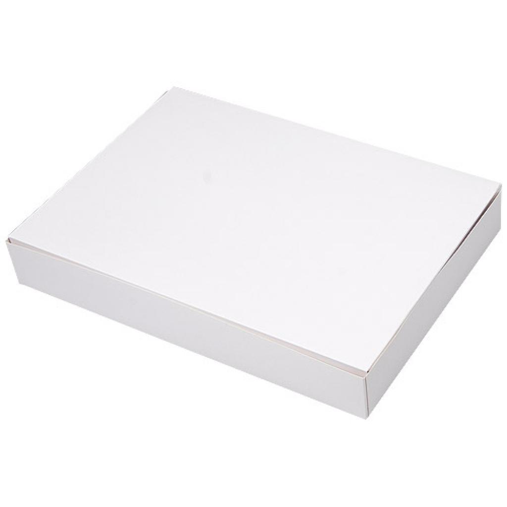 Boite pâtissière rectangulaire 43x29x5 blanche