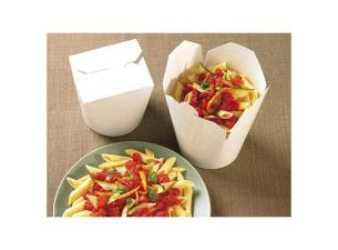 460ml white paperboard Firsmart pasta box