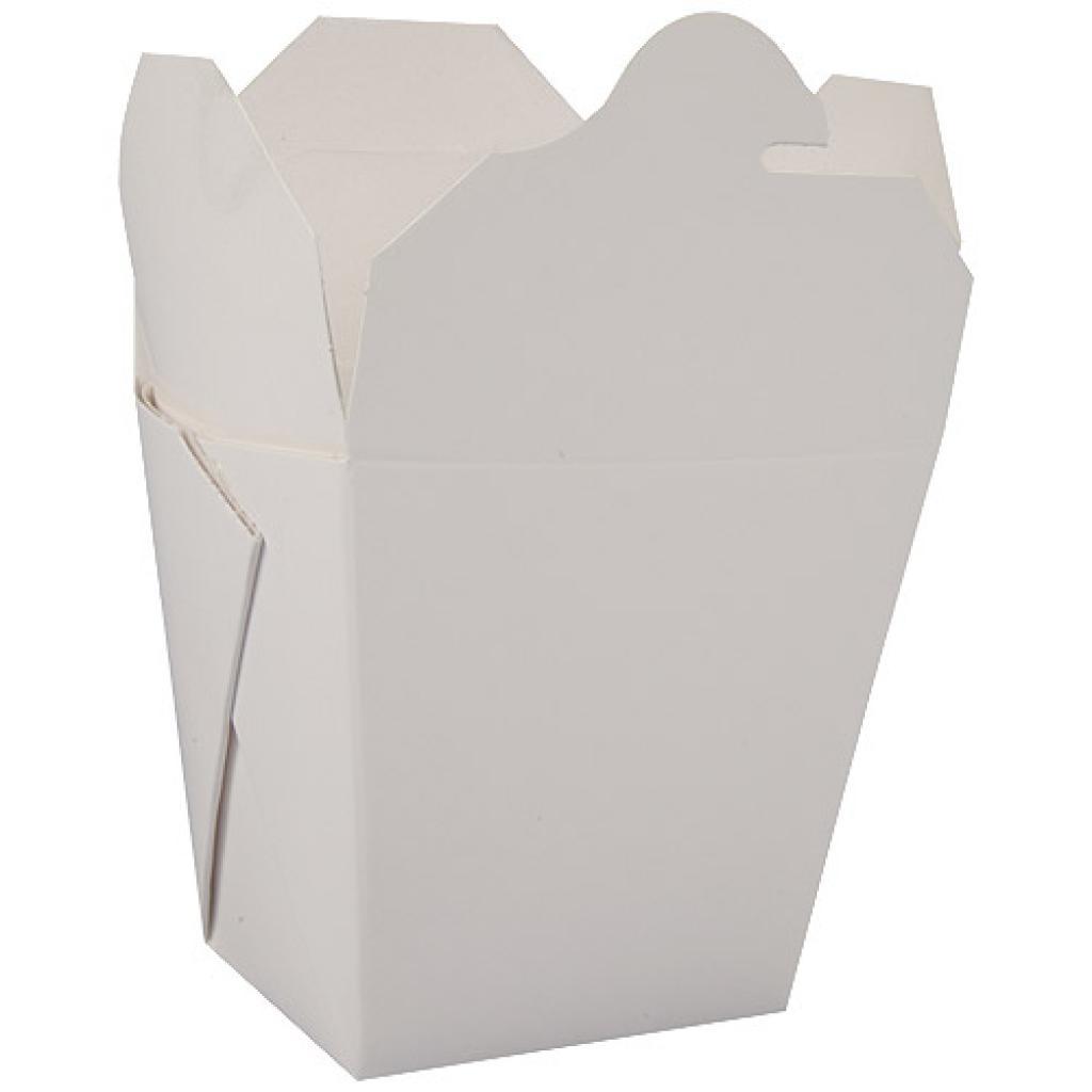460ml white paperboard Firsquare pasta box