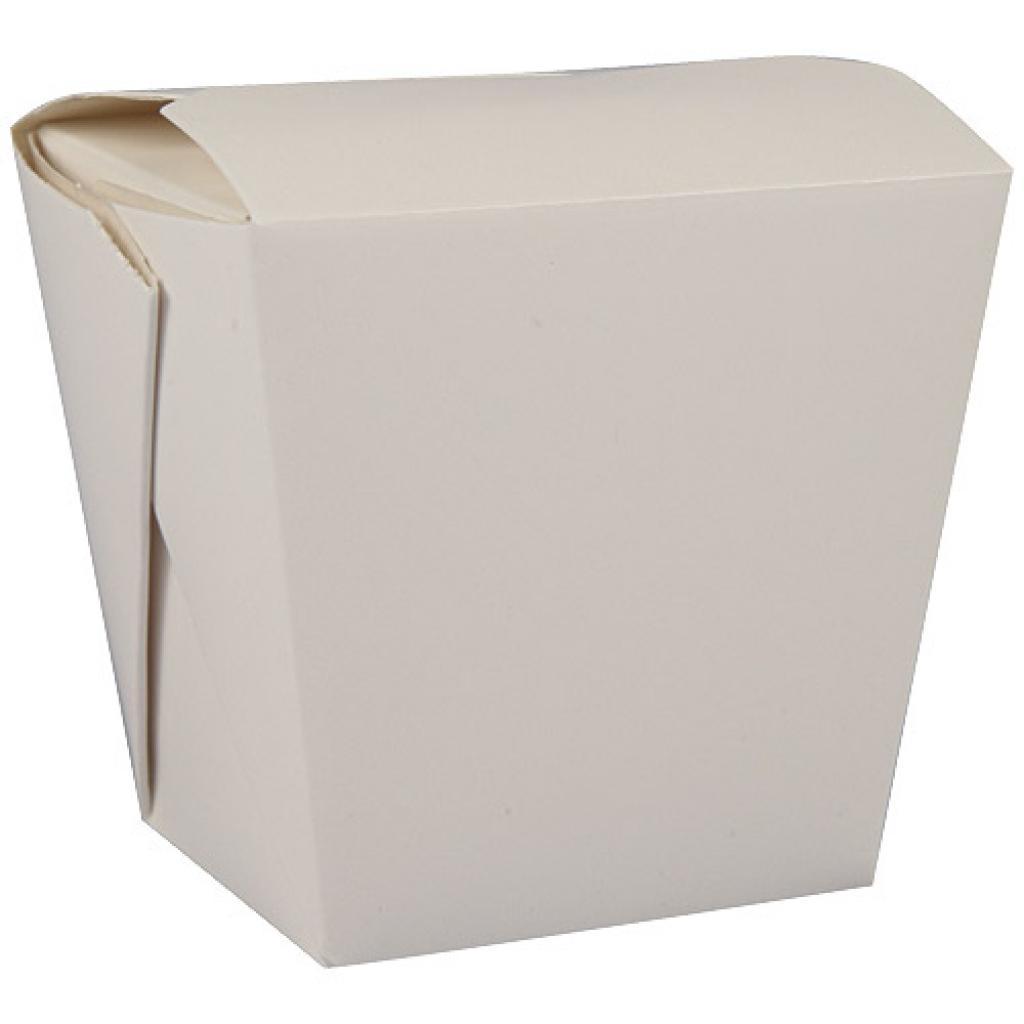 460ml white paperboard Firsquare pasta box 2