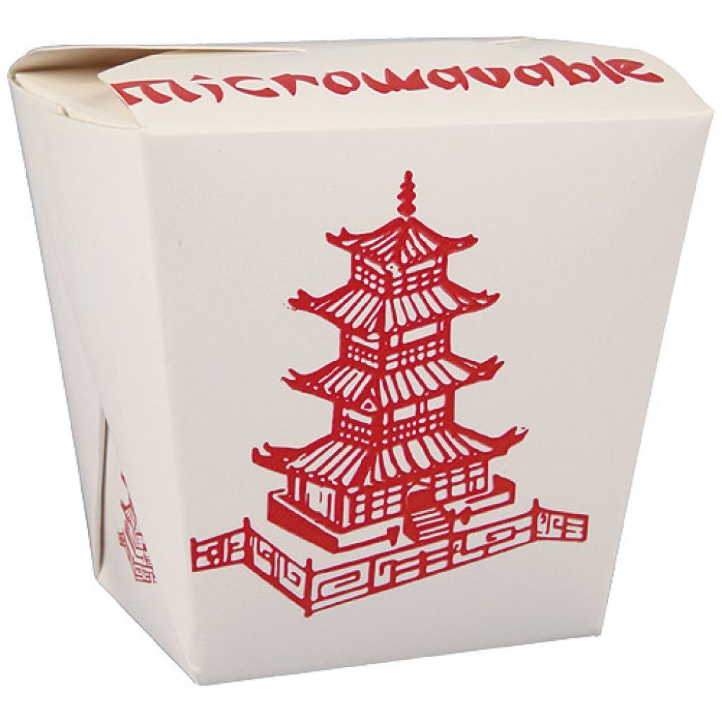 Pot à pâtes en carton décor asie Firsquare 460 ml 3