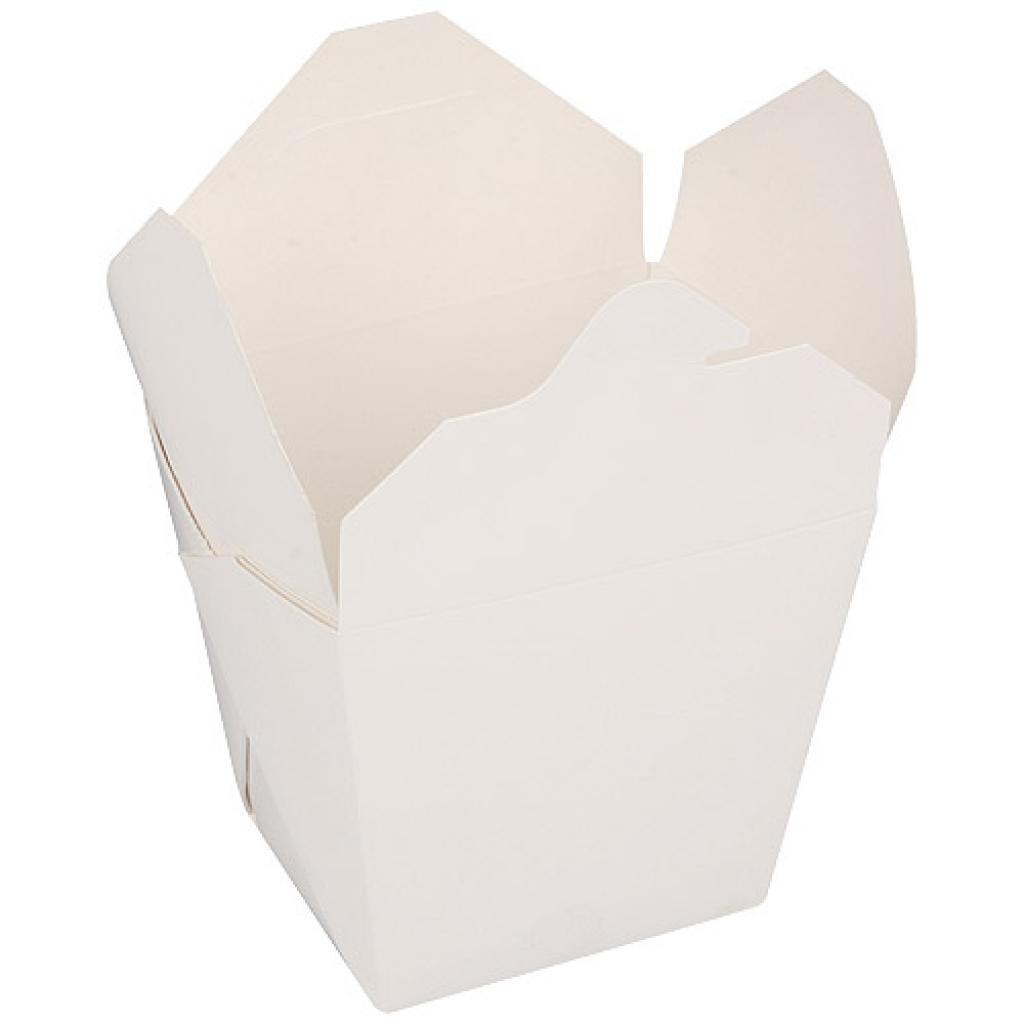 920ml white paperboard Firsquare pasta box