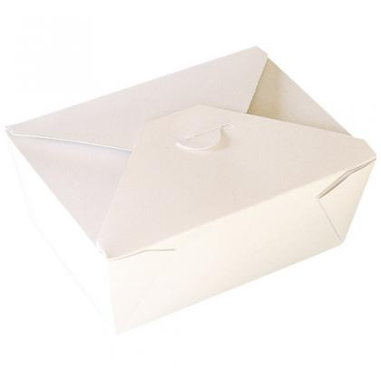 Boite carton en kraft blanc Firpack 650 ml