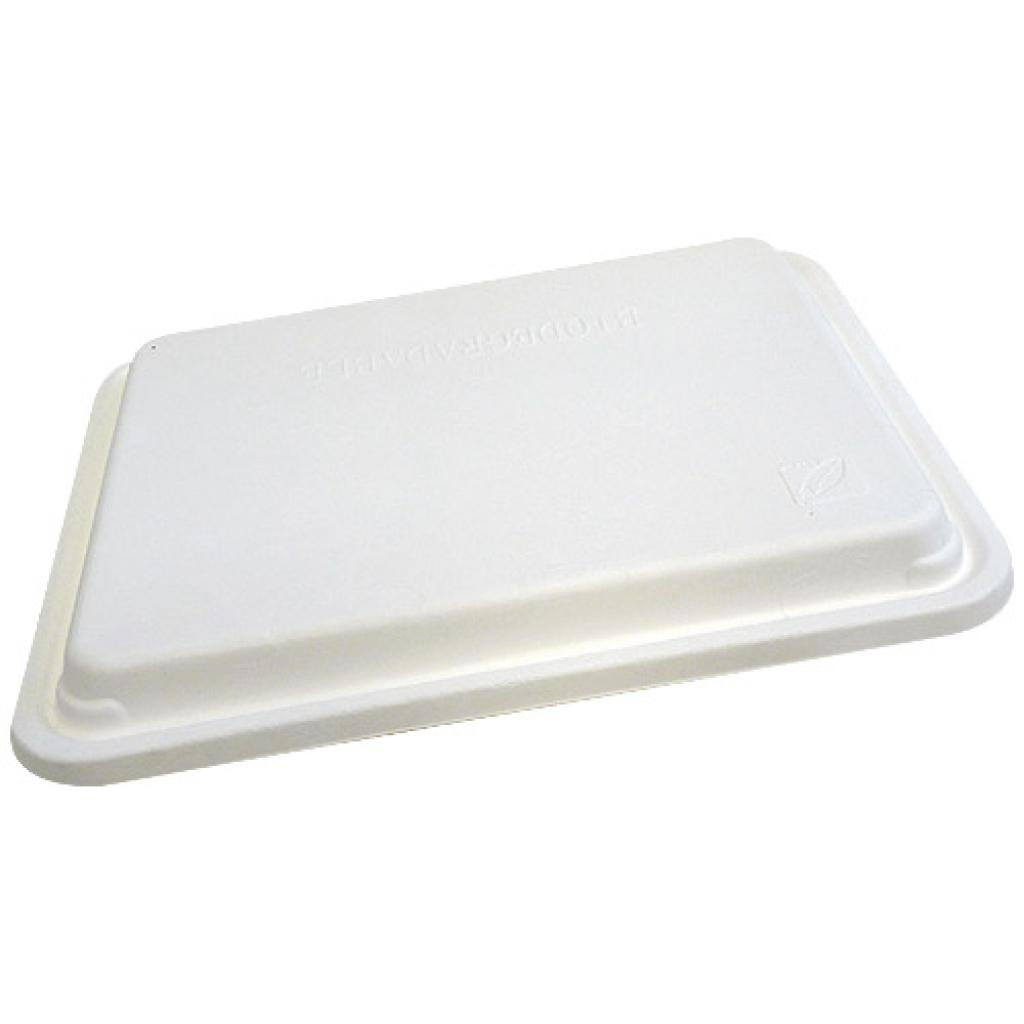Pulp lid for 5-compartment tray