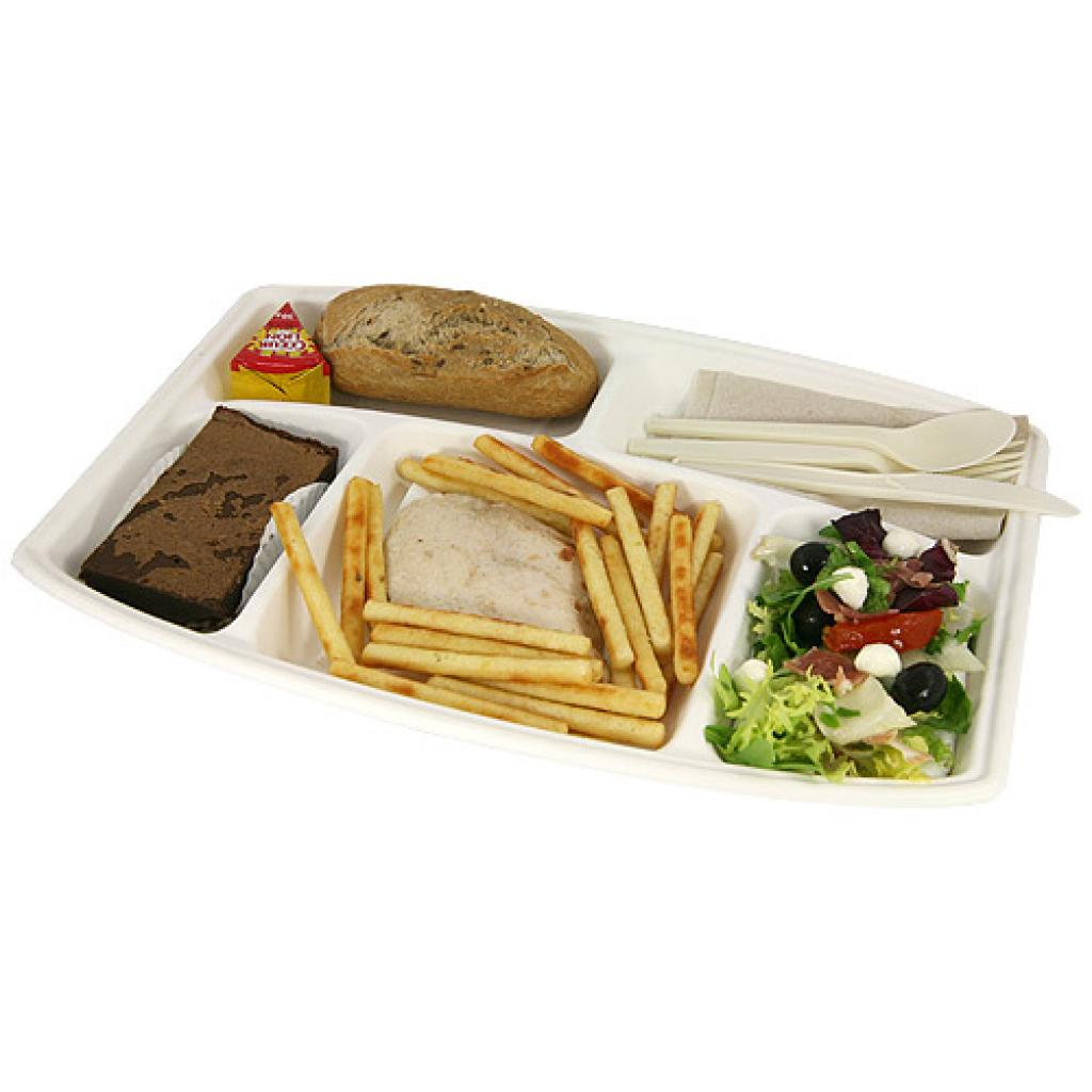 Large pulp dinner tray