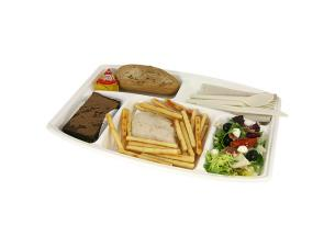 5-compartment Pulp Tray 377X268MM X50
